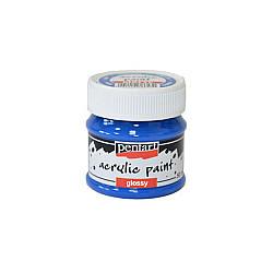 Culoare acrilica lucioasa - 50 ml - Albastru