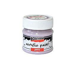 Culoare acrilica lucioasa - 50 ml - Pastel violet