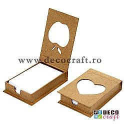 Cutie suport notite - 10x7x2.5 cm