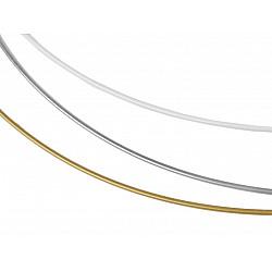 Cerc metalic pentru dreamcatchere, Ø60 cm - alb