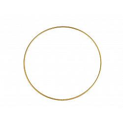 Cerc metalic pentru dreamcatchere, Ø20 cm - auriu