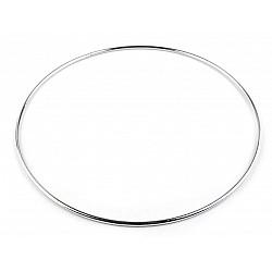 Cerc metalic pentru dreamcatchere, Ø20 cm - nichel