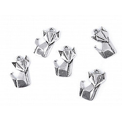 Pandantiv Origami, Vulpe (pachet 5 buc.)