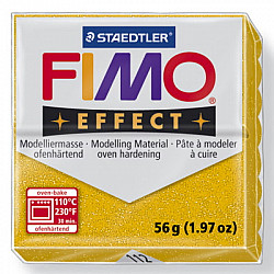 FIMO Effect 57g - Glitter Gold 112