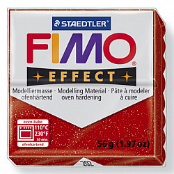 FIMO Effect 57g - Glitter Red 202