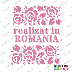 Mini-sablon - Realizat in ROMANIA - 9x7.5 cm