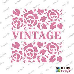 Mini-sablon - Vintage - 9x7.5 cm