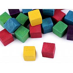 Cub lemn natur, 1.5 x 1.5 x 1.5 cm (pachet 20 buc.) -