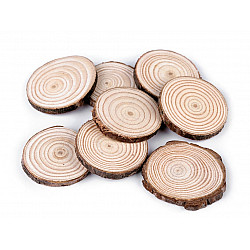 Rondele din lemn (pachet 8 buc.)