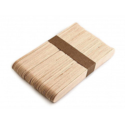 Bețișoare din lemn (pachet 50 buc.) - 1.8 x 15 cm