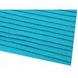 Coli fetru, 20x30 cm, 166 g / m², 2 bucati - albastru intens