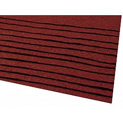 Coli fetru, 20x30 cm, 166 g / m², 2 bucati - bordo