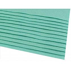 Coli fetru, 20x30 cm, 166 g / m², 2 bucati - turcoaz verde