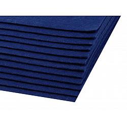 Coli fetru, 20x30 cm, 300 g / m², 2 bucati - albastru berlin
