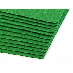 Coli fetru, 20x30 cm, 300 g / m², 2 bucati - verde ferigă
