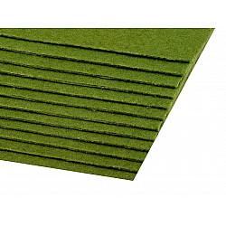 Coli fetru, 20x30 cm, 300 g / m², 2 bucati - verde oliv