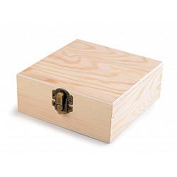 Cutie din lemn 12 x 12  x 5 cm