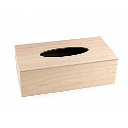 Cutie din lemn pentru servetele - 14 x 26 x 8 cm
