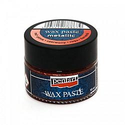 Pasta ceara metalica 20 ml (Wax Paste) - Rosu