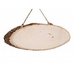 Rondele lemn ovale - cca 18 x 40 cm