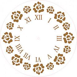 Sablon cadran - Bujori - 30cm