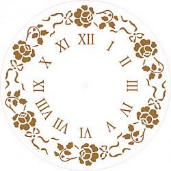 Sablon cadran - Dansul trandafirilor - 25cm