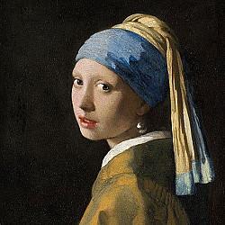 Servetele - Fata cu cercel de perla - 33x33cm, 1 pachet (20 buc.)