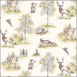 Servetele - Woodland Deer - 33x33cm, 1 pachet (20 buc.)