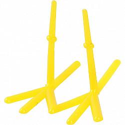 Picioare de gaina, L: 37 mm, H: 28 mm, galben, 1 Buc.