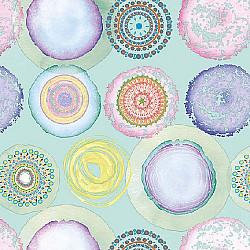 Servetele - Acuarele Cercuri - 33x33cm, 1 pachet (20 buc.)