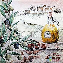 Servetele - Arome din Toscana - 33x33cm, 1 pachet (20 buc.)