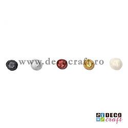 Set 5 contururi mari, culori metalice - 5x100 ml